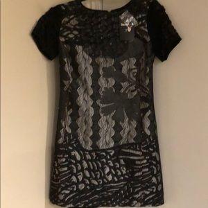 Desigual Black Midi Dress